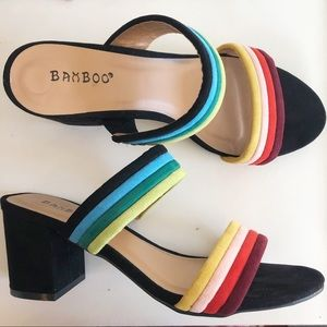 Rainbow Heels by Bamboo 🌈